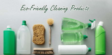 ekologiska gröna rengöringsprodukter